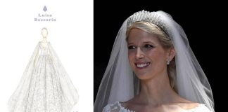 FIRST LOOK Lady Gabriella Windsors SECOND wedding dress is incredible Photo C Getty Images