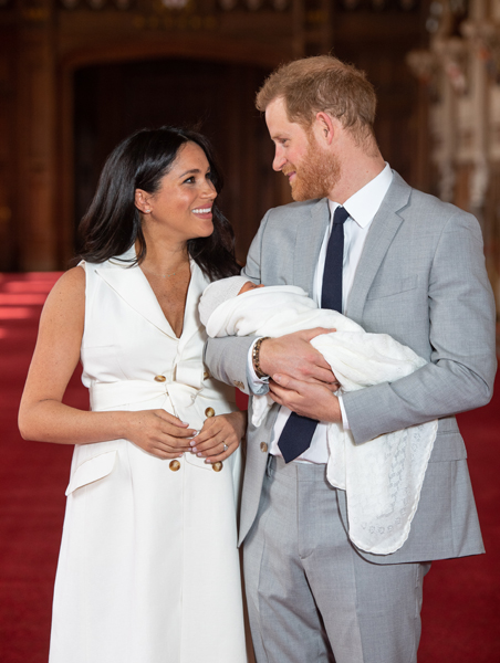 Harry and Meghan welcomed baby Archie on May Photo C Getty Images