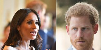 Harry told his grandmother that he was scared Meghan would take their baby back to the US Images Getty Images