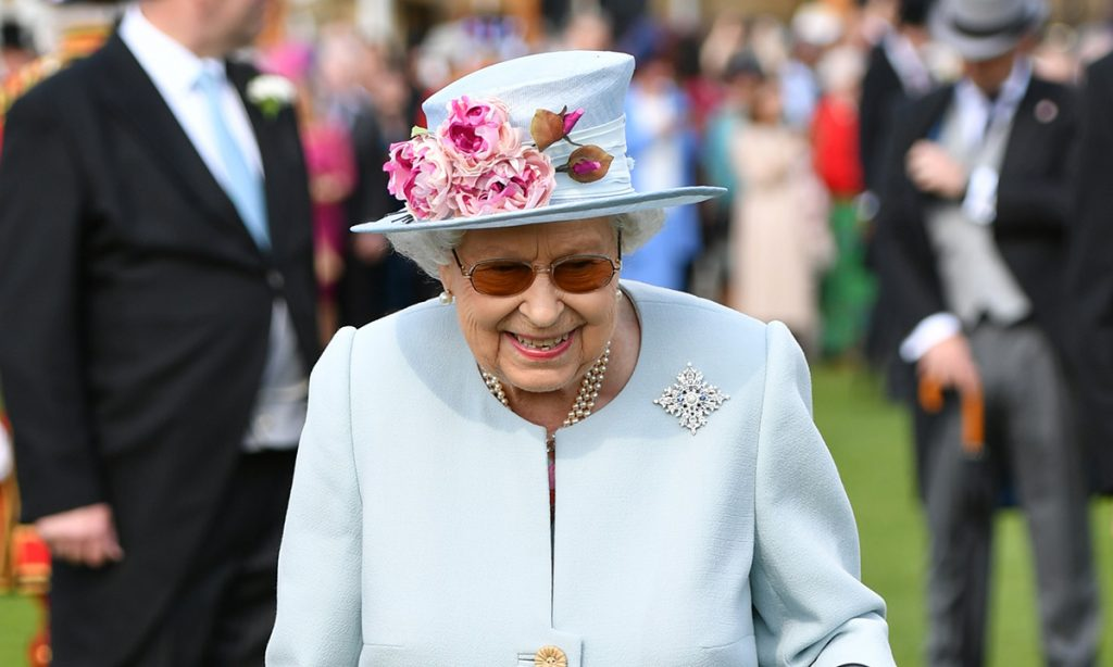 Her Majesty opened up to party guest Lucy Stafford Photo C Getty Images