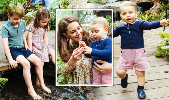 Kate Middleton news A look at the outfits worn by Prince Louis Prince George Princess Charlotte Image KENSINGTON PALACE
