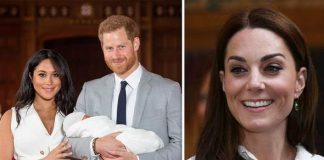 Kate Middleton news Meghan and Harry are at home with their newborn Archie Image Getty