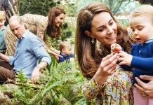 Kate Middleton news The Duchess of Cambridge was joined by Prince William and their children Image KENSINGTON PALACE