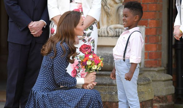 Kate Middleton news the Duchess joined schoolchildren for an immersive workshop on Tuesday Image Getty