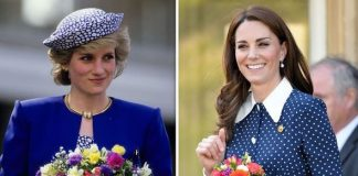 Kate Middleton news the Duchess paid a touching tribute to Princess Diana on Tuesday Image Getty