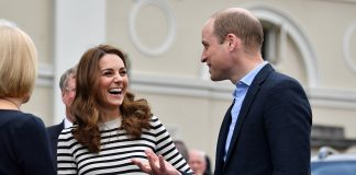 Kate Middleton talks Prince Harry and Meghan Markles royal baby name Photo C GETTY IMAGES