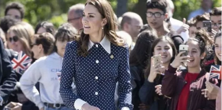 Kate Middleton wowed the crowds at Bletchley Park Image GETTY