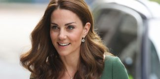 Kate Middleton wows in a glamorous green dress Photo C GETTY IMAGES