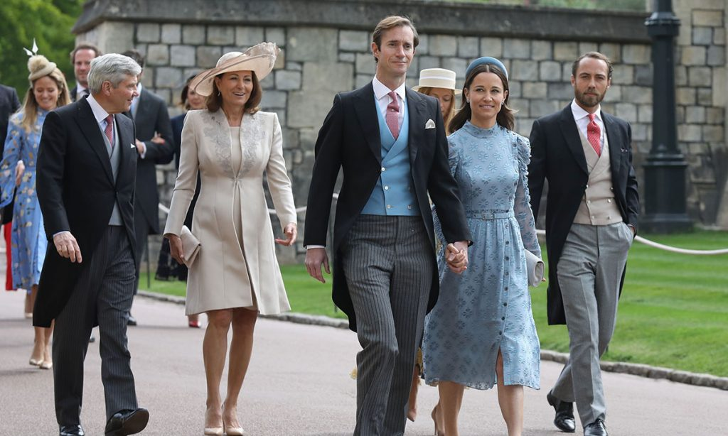Kate Middletons family delight as they make surprise appearance at royal wedding Photo C GETTY IMAGES