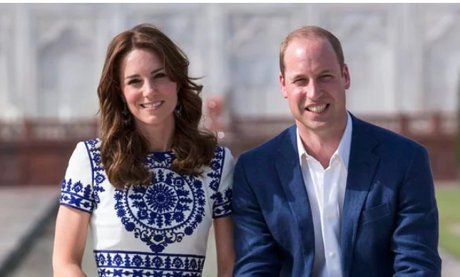 Kate and William had their spokesperson confirm they were fine after the earthquake Image C GETTY