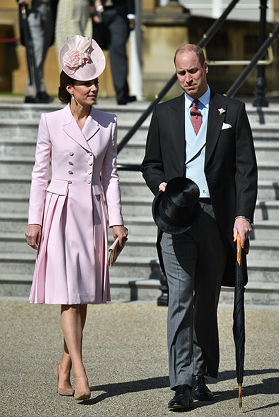 Kate and William stuck to the dress code Photo C GETTY IMAGES