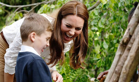 Kate the Duchess of Cambridge unveiled her nature garden at the Chelsea Flower Show Image GETTY