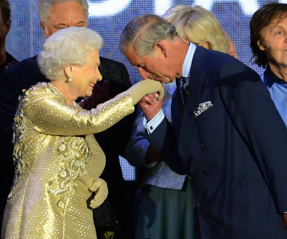 Kissing the Queen is a privilege reserved for few people Image GETTY