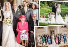 Lady Gabriella Windsor has released three official royal wedding pictures to mark her special day Image PA