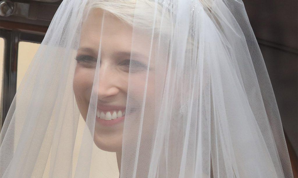 Lady Gabriella Windsor stuns in Luisa Beccaria wedding dress Photo C GETTY IMAGES