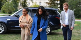 Meghan Markle Prince Harry and Doria Ragland in Photo C GETTY IMAGES