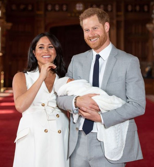 Meghan Markle and Prince Harry have not been seen since giving birth to Archie Image GETTY