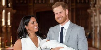 Meghan Markle and Prince Harry introduced Archie to the world this week Image GETTY