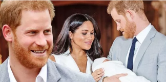 Meghan Markle and Prince Harry introduced their son Archie to the world on Wednesday Image GETTY