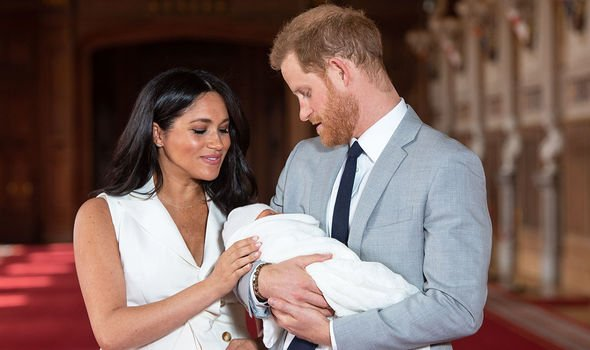 Meghan Markle and Prince Harry name first child Archie Harrison Mountbatten Windsor Image GETTY