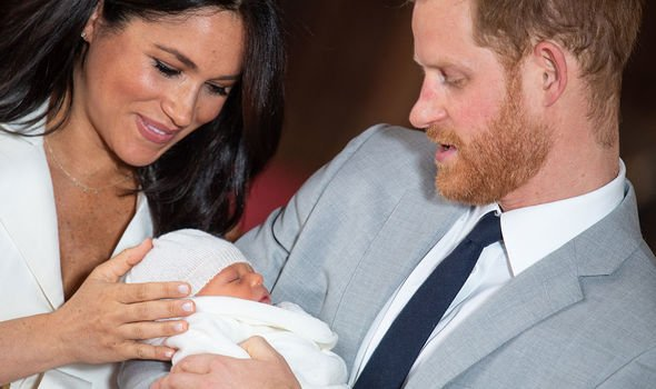 Meghan Markle and Prince Harry welcomed their first child into the world on Monday Image Getty