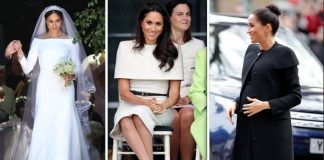 Meghan Markle has shown her appreciation for Givenchy on several occasions Image GETTY