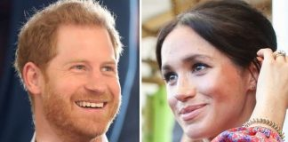 Meghan Markle hugely impressed Prince Harry when they first met Image GETTY