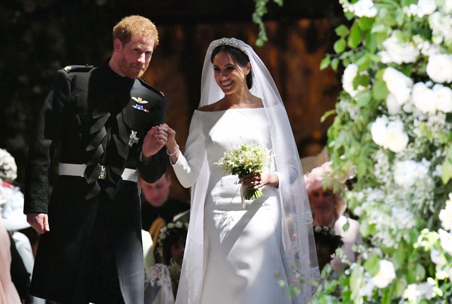 Meghans wedding bouquet Photo C Getty Images