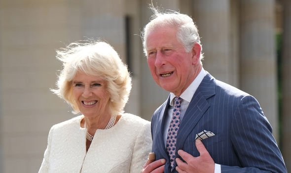 Prince Charles and Camilla travelled to Germany on a four day tour Image GETTY