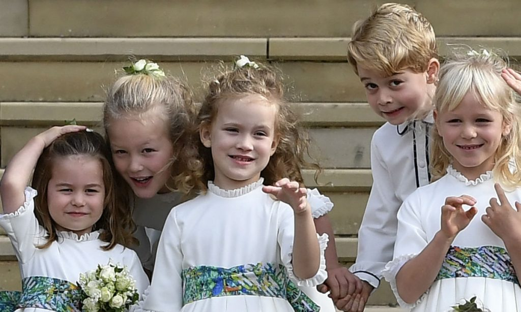 Prince George and Princess Charlottes close relationship with royal cousins revealed as Mike Tindall gives rare insight into family life Photo C GETTY IMAGES