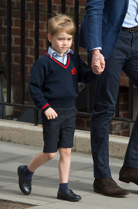 Prince George attends St Thomass Battersea school Photo C Getty Images