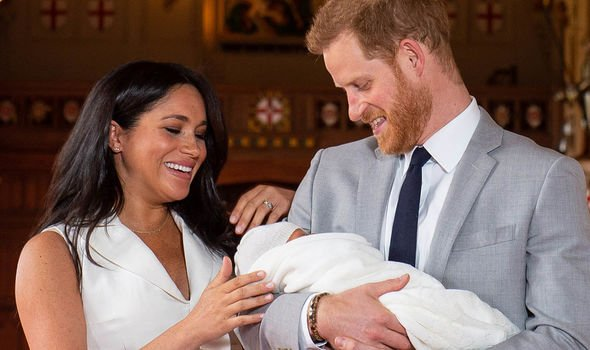 Prince Harry and William news Meghan and Harry with baby Archie Image Getty