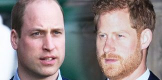 Prince Harry had an issue with William Image GETTY