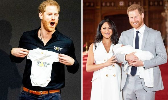 Prince Harry is overjoyed with parenthood