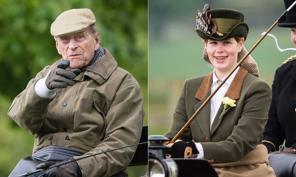 Prince Philip Is Very Much The Proud Grandad As He Watches