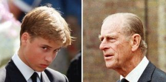 Prince Philip offered to walk with his grandsons behind Dianas coffin Image YouTube