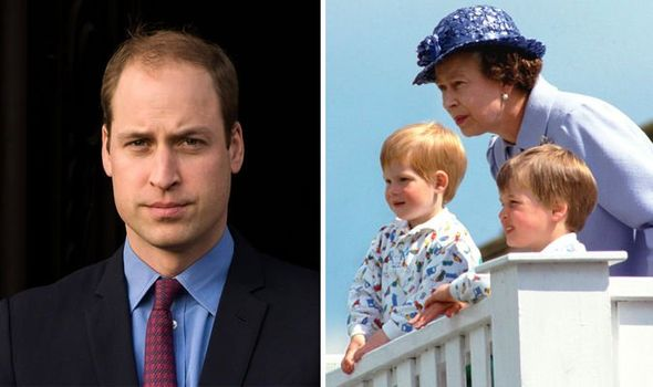 Prince William had no idea that he was thrid in line to the throne as a child Mr Morton writes Image Getty