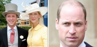 Prince William is expected to skip Lady Gabriellas wedding on May Image GETTY