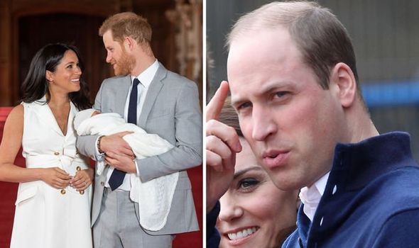 Prince William revealed how felt when he introduced George to the world in a throwback interview Image GETTY