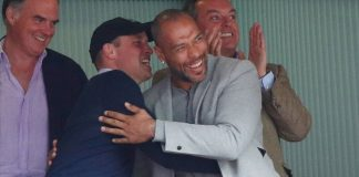 Prince Williams bromance with John Carew explained – why they sat together at match Photo C Getty Images