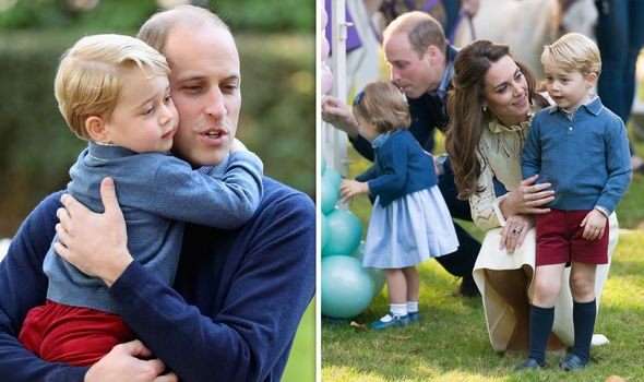 Prince Willima and Kate Middleton have said they have not yet told Prince George about his status Image Getty