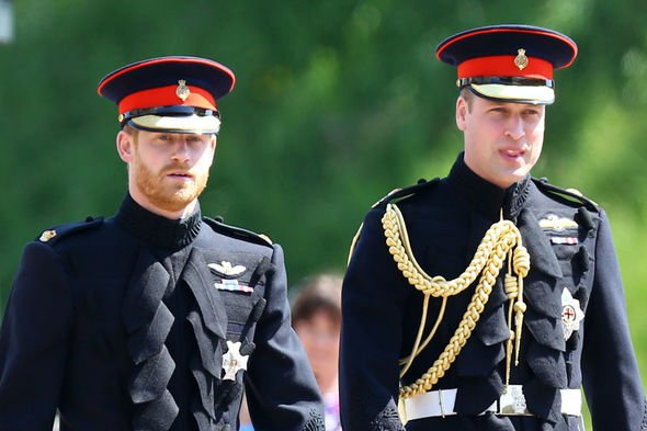 Princes WIlliam and Harry will not be forgiving if President Trump says anything about their mother Image GETTY