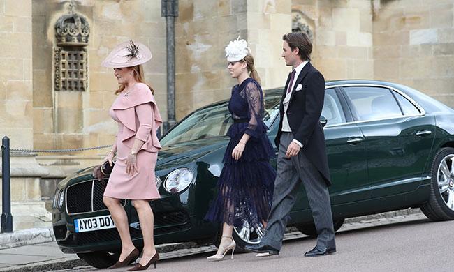 Princess Beatrice and her new boyfriend Edoardo Mapelli Mozzi Photo C GETTY IMAGES