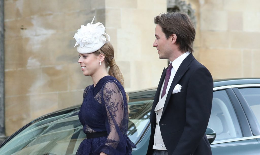 Princess Beatrice attends family wedding alongside boyfriend Edoardo Mapelli Mozzi Photo C GETTY IMAGES