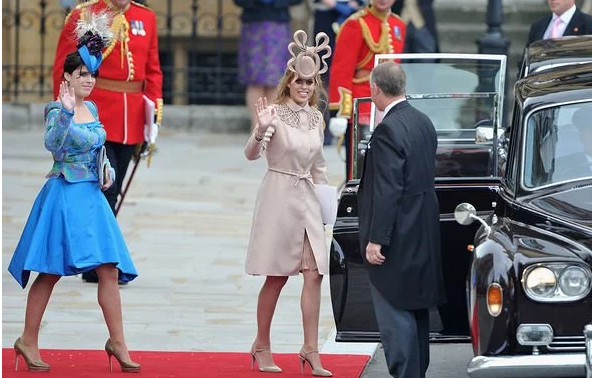 Princess Beatrice pregnant Bea and Eugenie are very close in age Image GETTY