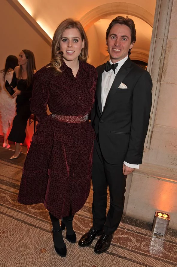 Princess Beatrice pregnant Bea is head over heels for her new beau Edo Image GETTY
