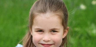 Princess Charlotte New Photos shared to mark her fouth Birthday Photo C KENSINGON PALACE TWITTER