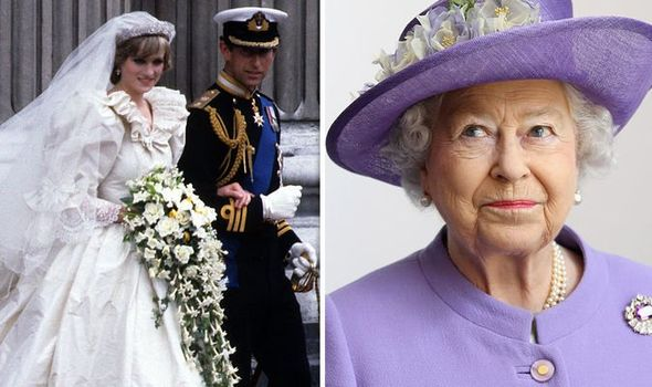 Princess Diana and Prince Charles' wedding photos were rushed by the Queen Image GETTY