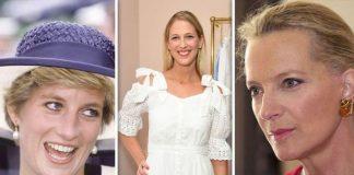 Princess Diana and Princess Michael of Kent were neighbours at Kensington Palace Image Getty
