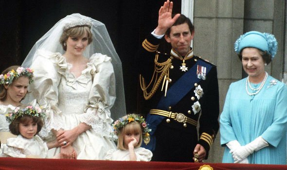 Princess Diana married Charles in July Image GETTY